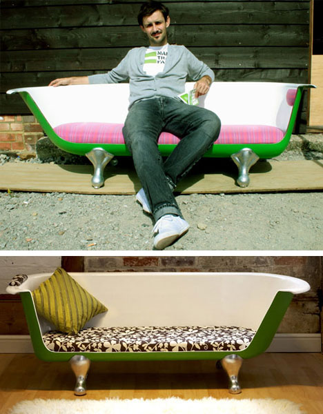 Recycled-bathtub-couch