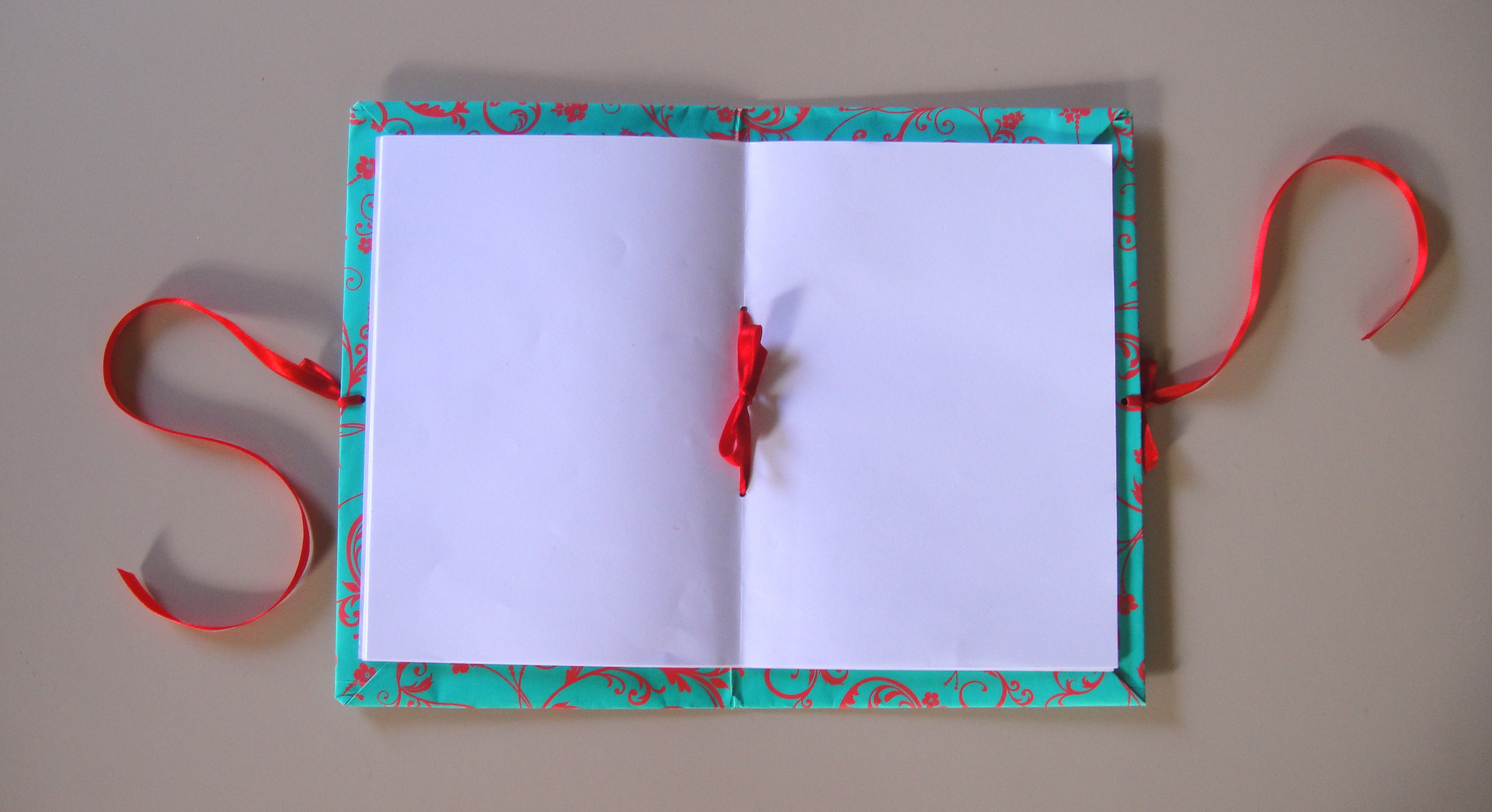recycled notebook tutorial from the blue shed